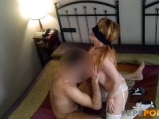 Lydia bangs her latest hookup in a hotel bed
