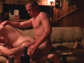 Bisexual threesome MMF amateur 2 guys intense hookup dp parts 1&2